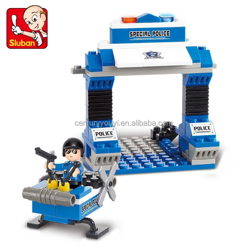 Best Selling Toys For Boys : Best selling sluban abs plastic building blocks diy