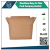 Flat and insert packing paper shipping corrugated display box