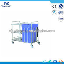 Factory wholesale hotel cleaning trolley janitor cart