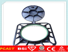 Ductile Iron Manhole Cover and Frame Clay Sand Casting