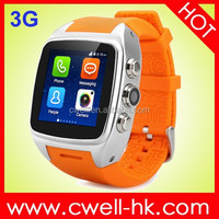 Smart watch phone 2015 china smart watches Waterproof Hi Watch ltra slim android smart phone