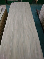New Item cheap laminated white oak wood timber mdf veneer sheets for decorative furniture wall hotel