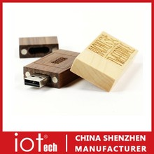 Promotional Weeding Gift 8GB Wooden USB Pen Drive