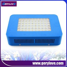 Commercial led grow light 250watt in indoor greenhouse 50x5w led for growing plants