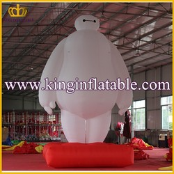 Popular Advertising Giant Inflatable Baymax Cartoon For Sale