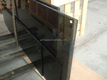 Sky Tiger 3-25mm Europe gray Tempered glass for canopy with 3C,EN12150,BS6206,AS/NZS2208 SGCC and promotion price