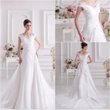 Real Sample china custom made korean style wedding dress XYY07-268