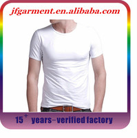 Good Quality Wholesale Blank T Shirts /Blank Cut and Sew T-shirt / Men Slim Fit Blank T-Shirt Clothing Manufacturer