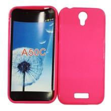 Matte TPU Soft Original Cover Mobile Phone Cases for AZUMI A50C