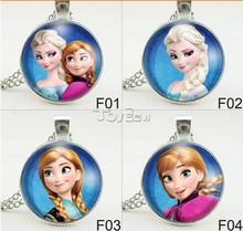 2015 Wholesale New Design Frozen Necklace, Cartooon Movie Frozen Necklace