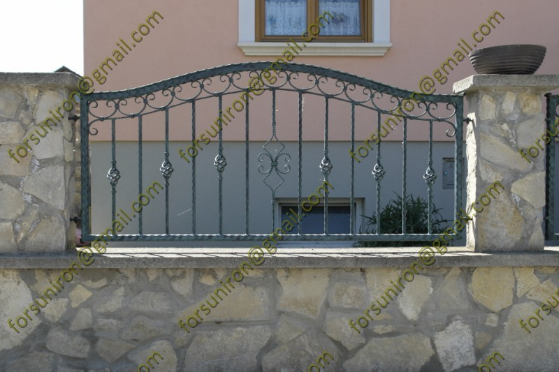 wrought iron decorative fence panel cheap wrought iron. Black Bedroom Furniture Sets. Home Design Ideas