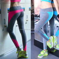 Sexy tight around sport long pants, high-elastic high quality running The fitness of pants