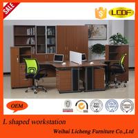 office desk side table,workstation tables,wooden office counter desk