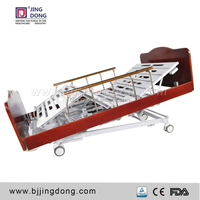 high quality five function electric hospital bed home care