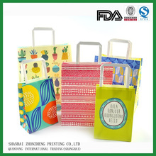 fashion designed paper shopping bag