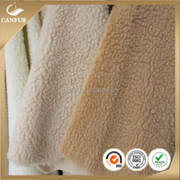 100% Polyester sherpa lining fabric