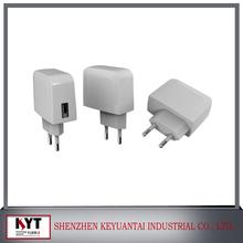 GS CCC UL PSE CE KC Approved USB charger 5V 2A/5V 1A USB Charger with JP CN UK EU US BR Korean plug