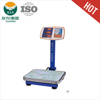 60kg / 5g TCS Electronic Platform Scale With Bigger Screen,LED Display, Red Light