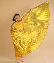 3 colors children stage belly dance wings