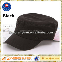 High quality custom flat top military cap/military style cap