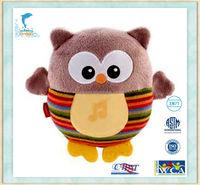 Stuffed&Plush Animal Owl baby Owl Toy Cute knitting Owl Toys