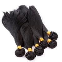 factory direct import humman hair extensions,straight brazillian hair