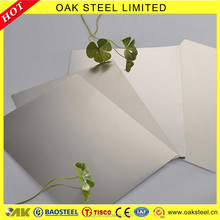 SS 201 Stainless Steel Plate 2b Finished Sheet Metal