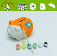 Ceramic DIY Piggy bank painting kits