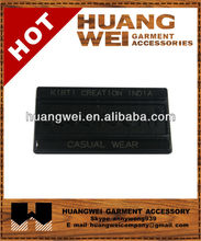 gun laser embossed metal label