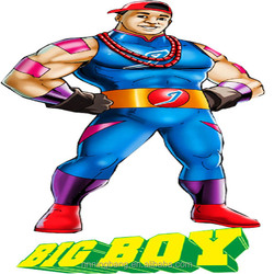 NB-CT-3078 new style Creative inflatable big boy for sale