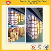 3 wheeler auto parts for Grade B Brown air filter paper