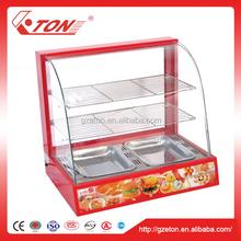 Electric Arc Luxury Food Warmer / Warming Display Showcase