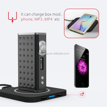 wireless charging eiffel t1 ecig mod 165w temperature control box mod