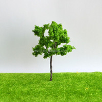 DIY sand table model material scene making model tree iron wire tree finished tree height:70mm