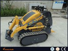 Mini crawler loader, mini track loader rubber track, any color