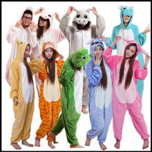 Best Selling Unisex Animal Onesie Jumpsuit Cosplay Pajamas Wholesale Low Price Winter Animal Onesie