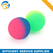 Promotional Fluorescence Transparent Custom Rubber Bouncy Ball