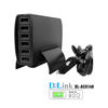 Portable Multi Travel Power Adapter Wall Charging Station 12v output 6 Port USB Charging Hub Multiple USB Desktop Charger