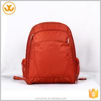 Wholesale cheap nylon promotional colorful backpack ladies laptop bag