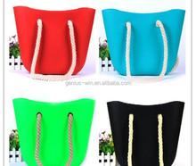 New Candy Silicone Shoulder Purse Handbag Satchel Bag Beach Bag Silicone Tote Shopping Bag