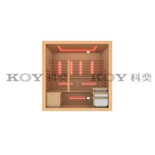 KOY New sauna, infrared sauna cabin (with CE, TUV, SAA, EMC certifications)
