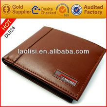 Men business style casual style leather wallet