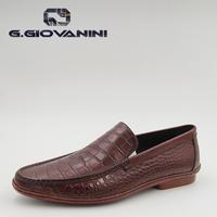 Purely manual Palm wax crocodile grainmen dress shoes Real Animal Leather