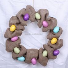 Luxury vivid easter door decoration/ easter egg decoration