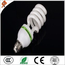 Best 8000 Hours Daylight 9W Florescent Light CFL E27 B22 Half Spiral Energy Saving Lamp