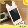 Promotional silicone rabbit 5.5 inch mobile phone case