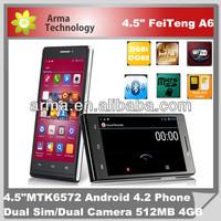 "4.5"" HTM A6W phone 3g dual core"