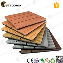 wood plastic composites covering wpc diy tiles
