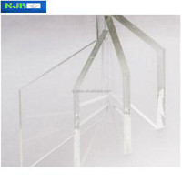 5mm tempered decorative sunroom glass ultra-clear glass