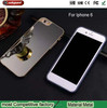 2015 Christmas Gift Mobile phone case, cell phone case for iphone 6 metal bumper mirror back cover